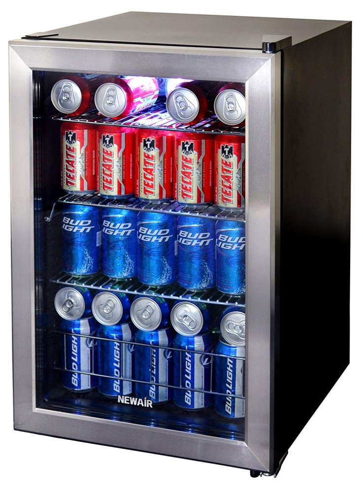 NewAir 90 Can Beverage Cooler 2.2 Cu. Ft.