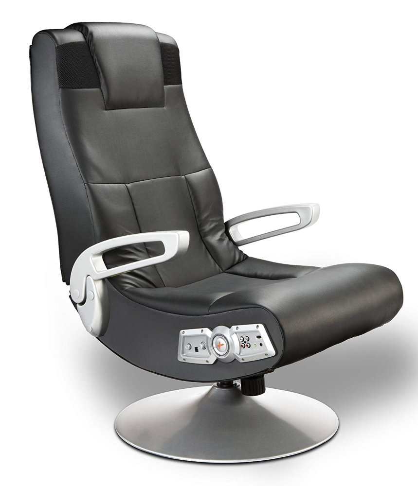 Ace Bayou X Rocker Pedestal Gaming Chair - Wireless