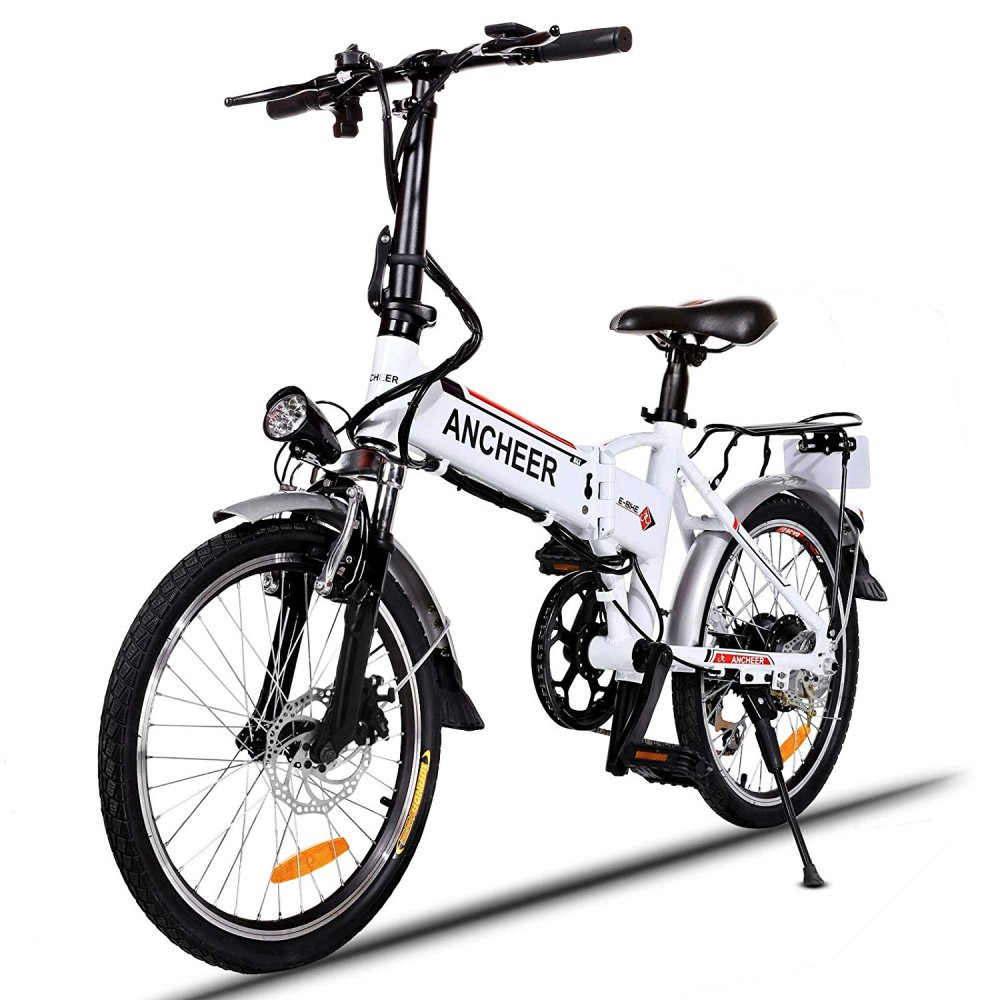 ANCHEER Folding Electric Commuter Bike