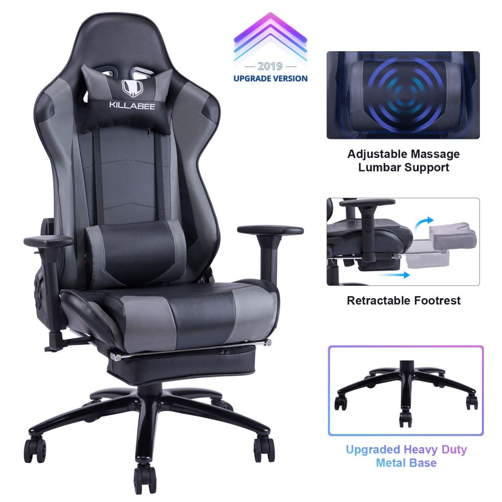 KILLABEE Big & Tall Massage Gaming Chair